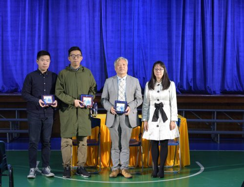 "Professor Zhu Shoutong participated in the ""Heritage of Chinese Culture Day"" held by Matteo Ricci middle school"